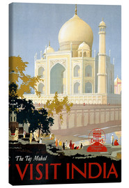 Canvas print  Indien - Taj Mahal - Travel Collection