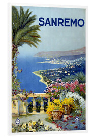 PVC print  Sanremo, Italy - Travel Collection