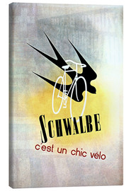 Canvas print  Bicycles - Schwalbe, cest un chic velo - Advertising Collection