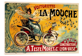 Acrylglas print  Voiturette La Mouche - Advertising Collection