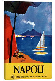 Canvas print  Napoli - Travel Collection