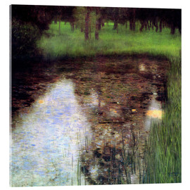 Acrylglas print  The swamp - Gustav Klimt