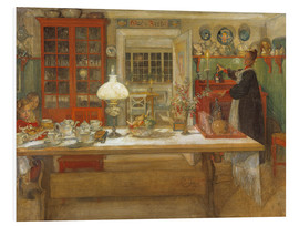 PVC print  Getting Ready for a Game - Carl Larsson