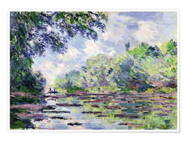 Premium poster Seine at Giverny