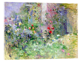 Acrylglas print  The Garden at Bougival - Berthe Morisot