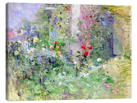 Canvas print  The Garden at Bougival - Berthe Morisot