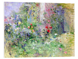 PVC print  The Garden at Bougival - Berthe Morisot
