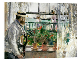Acrylglas print  Manet on the Isle of Wight - Berthe Morisot