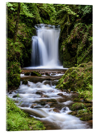 Acrylglas print  Waterfall of Geroldsau, Black Forest - Andreas Wonisch