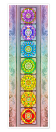 Premium poster The Seven Chakras - Series III -Artwork II