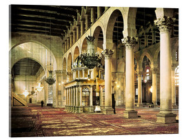 Acrylglas print  The Umayyad Mosque in Damascus