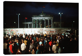 Canvas print  Fall of the Berlin Wall