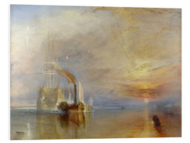 PVC print  The fighting Temeraire - Joseph Mallord William Turner