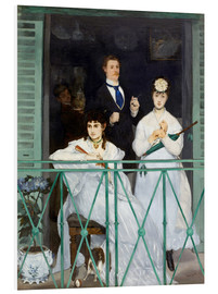 PVC print  The Balcony - Edouard Manet