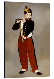 Aluminium print  The Fifer - Edouard Manet