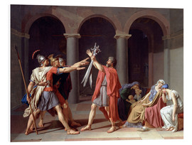 PVC print  Oath of the Horatii - Jacques-Louis David