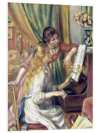 PVC print  Two girls at the piano - Pierre-Auguste Renoir