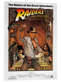 Acrylglas print  Indiana Jones - Raiders of the lost ark