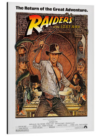 Aluminium print  Indiana Jones - Raiders of the lost ark