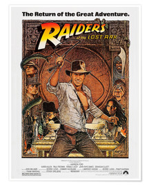 Premium poster  Indiana Jones - Raiders of the lost ark