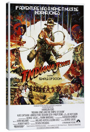 Canvas print  Indiana Jones and the temple of doom