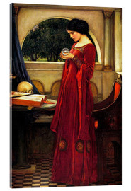 Acrylglas print  The crystal ball - John William Waterhouse