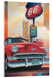 Acrylglas print  Route 66 Cafe - Georg Huber