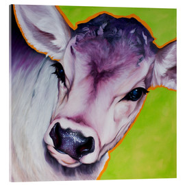 Acrylglas print  cow pretty Betty - Renate Berghaus