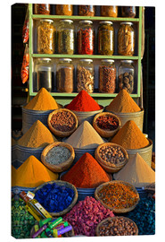 Canvas print  Spices from Morocco - HADYPHOTO