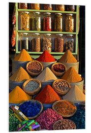 PVC print  Spices from Morocco - HADYPHOTO