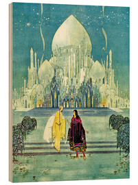 Hout print  The Orient Palace - Virginia Sterrett