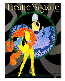 Premium poster Theatre Magazine New York