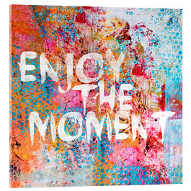 Acrylglas print  Enjoy the moment II - Andrea Haase