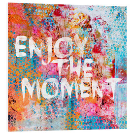 PVC print  Enjoy the moment II - Andrea Haase