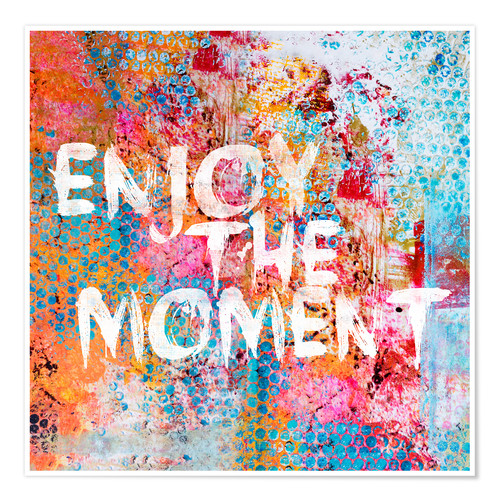 Premium poster Enjoy the moment II