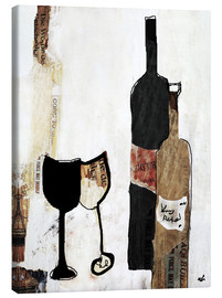 Canvas print  Vino - Christin Lamade