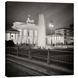 Canvas print  Brandenburg Gate, Berlin - Alexander Voss
