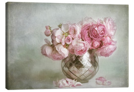 Canvas print  Pretty in pink - Lizzy Pe