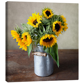Canvas print  Sunflowers 01 - Nailia Schwarz