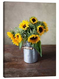 Canvas print  Sunflowers 02 - Nailia Schwarz