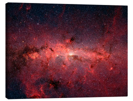 Canvas print  The center of the Milky Way