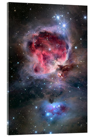 Acrylglas print  The Orion Nebula - Roth Ritter