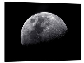 Acrylglas print  Waxing gibbous moon - Roth Ritter