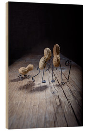 Hout print  Simple Things - Together - Nailia Schwarz
