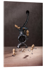 Acrylglas print  Simple Things - Meat Grinder - Nailia Schwarz