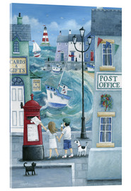 Acrylglas print  Harbour post - Peter Adderley