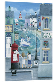 PVC print  Harbour post - Peter Adderley