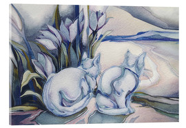 Acrylglas print  Miracles come quietly - Jody Bergsma