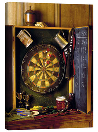 Canvas print  Darts board - Simon Kayne