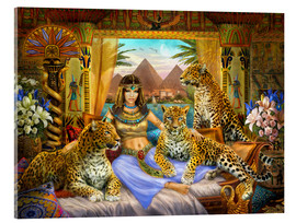 Acrylglas print  Egyptian Queen of the Leopards - Jan Patrik Krasny